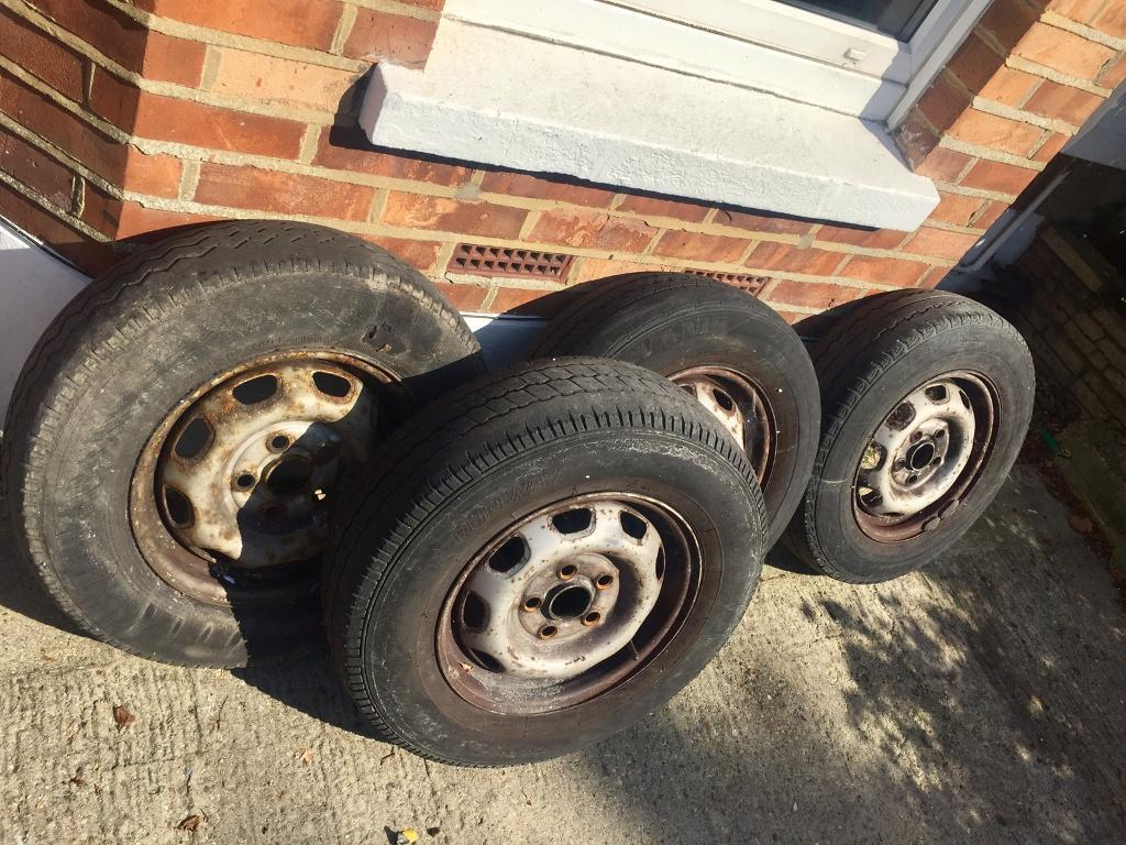 Vw t4 steel wheels and 1 good tyre freein Bournemouth, DorsetGumtree - Free free free vw t4 steel wheels and tyres that seen better days ones ok up to u anyway free collect wallisdown
