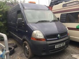 2006 Renault Master van diesel, starts and drives, van located in Gravesend Kent, no MOT, any questi