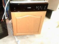 Bosch semi intergrated dishwasher