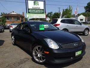 2006 Infiniti G35 COUPE-NAVIGATION-LEATHER-SUNROOF