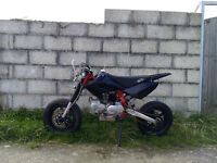 M2R 140 pitbike supermoto stock almost new