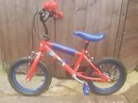 Childrens Bike Spiderman Boys