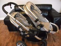 ICANDY PEACH 2 Double Buggy Travel System