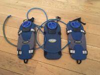 3 x Camelbak hydration systems