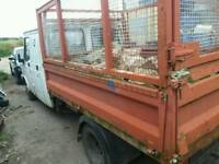 Transit / ldv tipper bed and cage