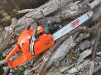 CHAINSAW HUSQVARNA 353 PRO SAW 18 OREGON PROLITE BAR AND CHAIN