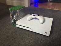 BARGAIN Xbox One S 6 Games, All Leads included not PS4 iPhone 6 7 8