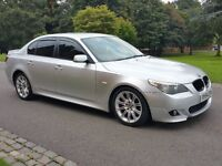 2005 BMW 5 SERIES 535D M SPORT 3.0 TWIN TURBO DIESEL AUTOMATIC 128,000 MILES FULL SERVICE HISTORY