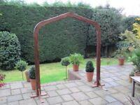 Beautiful hardwood Wooden Arch / Wedding arch / Flower Arch