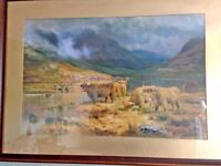 FRAMED HIGHLAND PICTURE