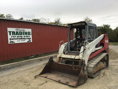 2006 Takeuchi Tl140 Compact Track Skid Steer Loader Only 1400 Hours