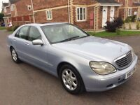 Mercedes Benz s320 diesel automatic fully loaded service history mot drives like new bargain £950