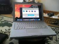 APPLE MACBOOK 1181 2009 2.13Ghz 160gb HHD NEW BATTERY WORKING