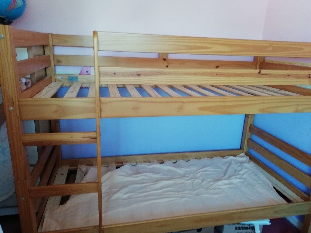 Wooden Bunk Beds Hardly Used Just For When Grandkids Visited Good