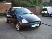 71,000 GENUINE MILES FORD KA 1.3 SUPERB ECONOMICAL IMMACULATE CONDITION RECENT SERVICE 9 MONTHS MOT
