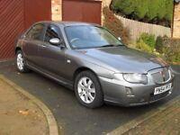 Rover 75 Connoiseur T, Low Mileage, 2004, 54 Registration.