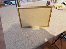 A4 Gold Frame