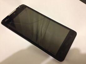 Wiko Lite 4g Smartphone Dual Sim - Cracked Screen but Working