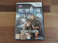 Doctor Who 'Return to Earth' Wii game