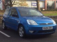 FORD FIESTA 2004(04 REG)*£799*LOW MILES*12 MONTHS MOT*BLUE*GREAT RUNNER*PX WELCOME*DELIVERY