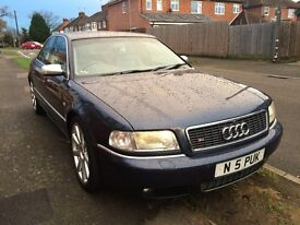 Audi S8 4.2 Special Edition Ebony Blue Quattro 4dr LPG GAS CONVERTED