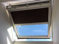 USED VELUX SOLAR POWERED WINDOW + VELUX SOLAR POWERED BLIND AVAILABLE MAY 2017