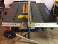 "Ryobi ETS1825 254mm (10"") Folding Table Saw 240V"