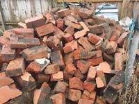 Red bricks and hardcore