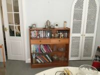 Nathan Vintage Display Bookcase Unit With Glazed Front