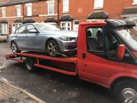CAR RECOVERY TRANSPORT COLLECTION SERVICE BIRMINGHAM