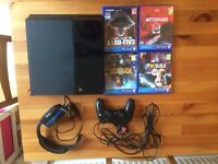 PlayStation 4 console 500g Jet black