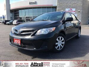2013 Toyota Corolla CE - D Package. Heated Seats, Moonroof, Blue