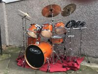 DRUM KIT BY MAPEX MAY SWAP FOR GUITAR
