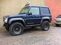 Daihatsu fourtrak field men off road 2.8 tds