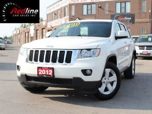 2012 Jeep Grand Cherokee 4X4 Latitude Leather-PanoRoof-Camera