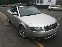 Audi A4 Cabriolet 2.4 S Line 2dr CONVERTIBLE *Full Service History* 01-F Keeper *03-Months Warranty*