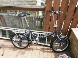 Raleigh fold up bike