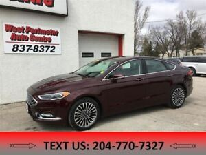 2017 Ford Fusion Titanium ** All Wheel Drive ** Sunroof ** Navig
