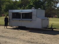 Professional Street Food Catering Trailer - 16ft Long, Burger Van, Catering Trailer,