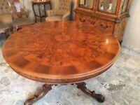Italian XX cent. solid wood table