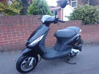 PIAGGIO ZIP 50cc 2008 4 STROKE - EXCELLENT CONDITION - STANDARD & ORIGINAL BIKE