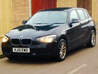 2015 BMW 114d SPORT HATCH LOW MILEAGE FULL MAIN DEALER SERVICE HISTORY