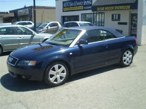 2006 Audi A4 CABRIOLET 1.8TURBO! NO WINTERS! SERVICE HISTORY!