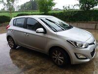2013 Silver Hyundai i20 active