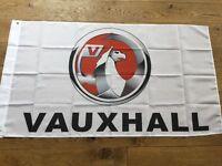 Vauxhall workshop flag banner corsa Astra vectra insignia nova VXR vx220