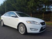 JUNE 2007 FORD MONDEO ZETEC 1.8 TDCI 125BHP 6SPEED FROZEN WHITE LOVELY EXAMPLE NEW CLUTCH & FLYWHEEL
