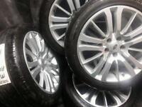 20 inch 5x120 genuine Land Rover Sport alloys wheels