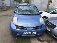 MICRA AUTOMATIC BLUE 2004 £1295