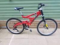 """Saracen Hazzard Mens Mountain Bike 18"""""""