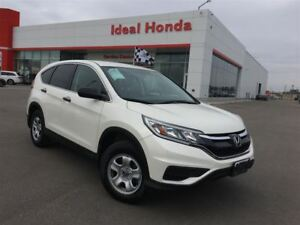 2015 Honda CR-V LX, 16 steel wheels, air, cruise